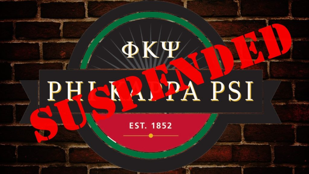University suspends frat house, citing behavior problems