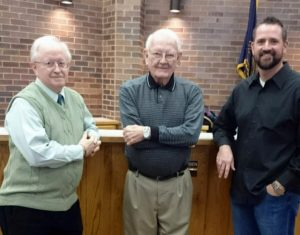 Reception held for outgoing Gering council members