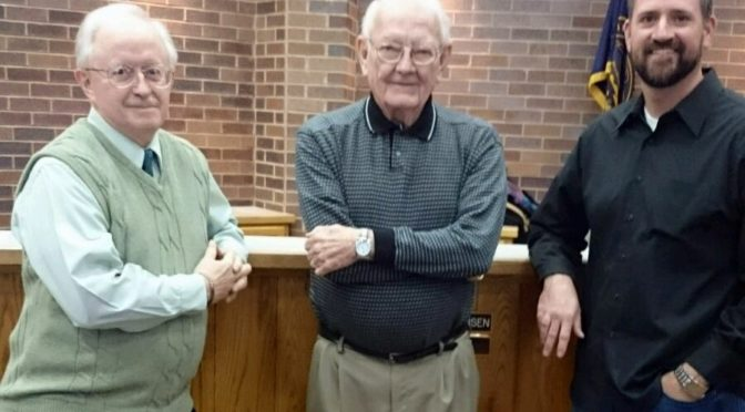 Larry Gibbs, Don Christensen, and Justin Allred. (Mooney/RRN/KNEB)
