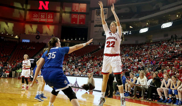 Huskers Lose To Drake, Photo Courtesy NU Sports Media