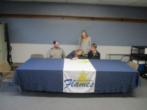 (AUDIO) Fleischman signs with College of Saint Mary