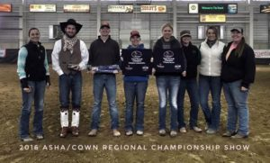 NCTA Ranch Horse Team competes at Regional Championships