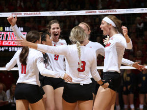 Huskers Storm Back For Thrilling 3-2 Win, Will Play Washington in Elite Eight Match