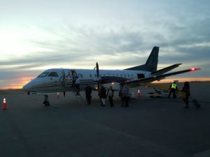 Kearney enplanements rise with new air service