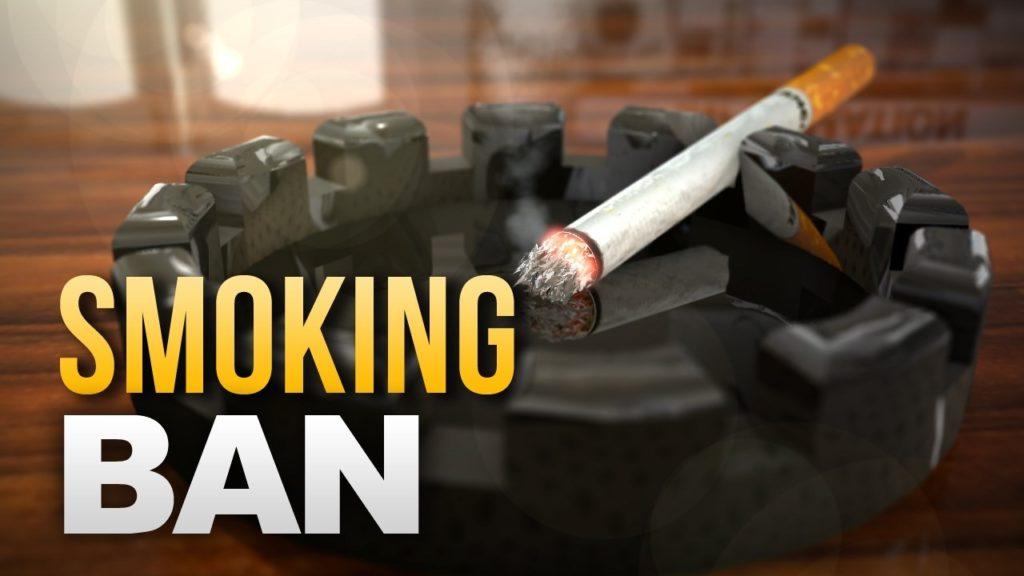 Kansas bans tobacco, vape use on campus