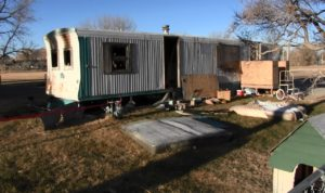 Terrytown man displaced by trailer fire