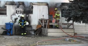 Terrytown trailer fire caused by use of stove as a heater