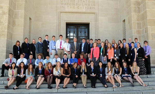 Courtesy/Nebraska Attorney General -- 2016 Attorney General's Youth Conference