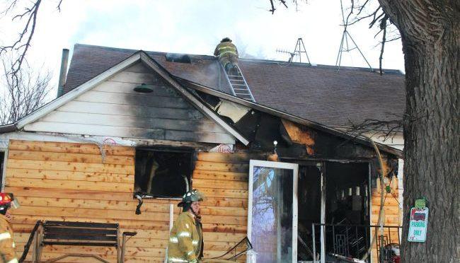 Courtesy/Hebron Volunteer Fire Dept. House fire.