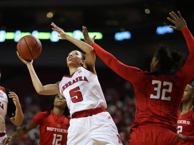 Huskers Power Past Rutgers, 62-58