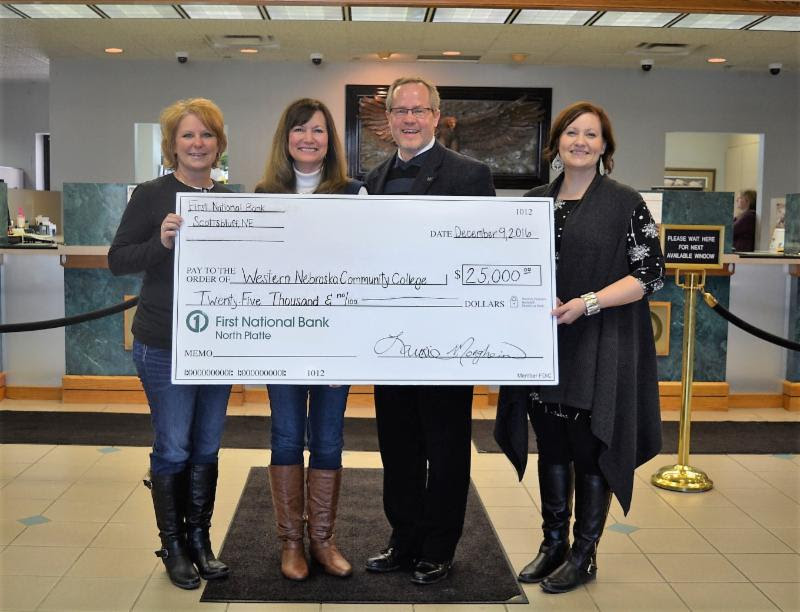 Western Nebraska Community College Foundation Receives $25,000 Grant