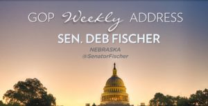 Senator Fischer delivers weekly Republican address