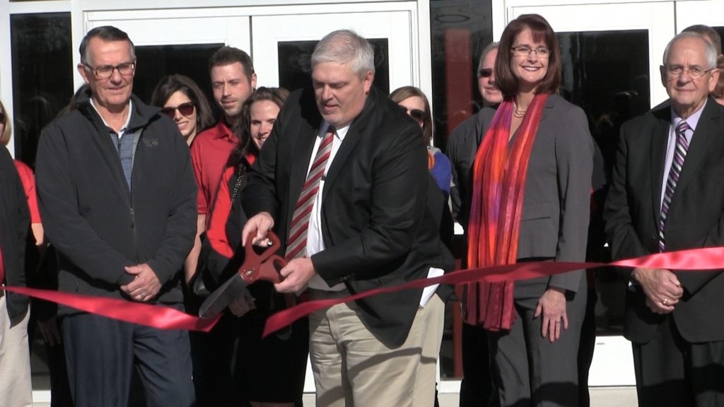 Hundreds on hand for SHS ribbon cutting ceremony and open house