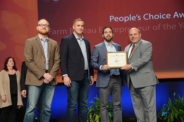 Nebraska's Levrack Team Wins People's Choice Contest in AFBF Rural Entrepreneurship Challenge