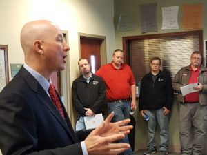 Gov. Ricketts brings State of the State message to Lexington stopover