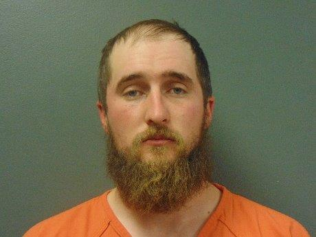 Booking photo of Tyler Isom provided by Scotts Bluff County Detention Center