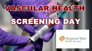 Regional West to Host Free Vascular Health Screening Day