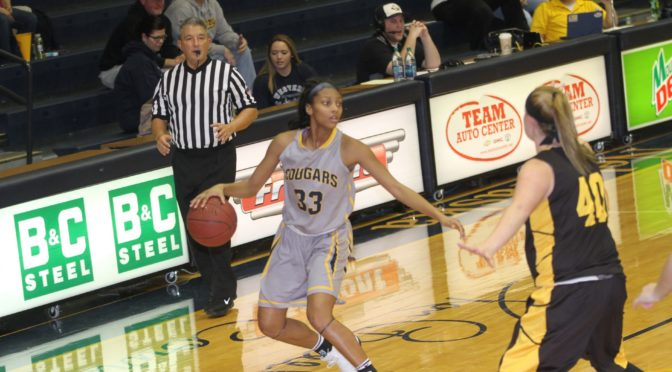 WNCC freshman Anastacia Johnson scored six points in loss to Lamar. (photo courtesty of WNCC)