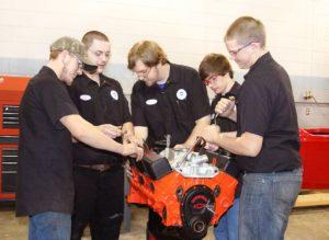 Students learn life skills through Automotive Technology