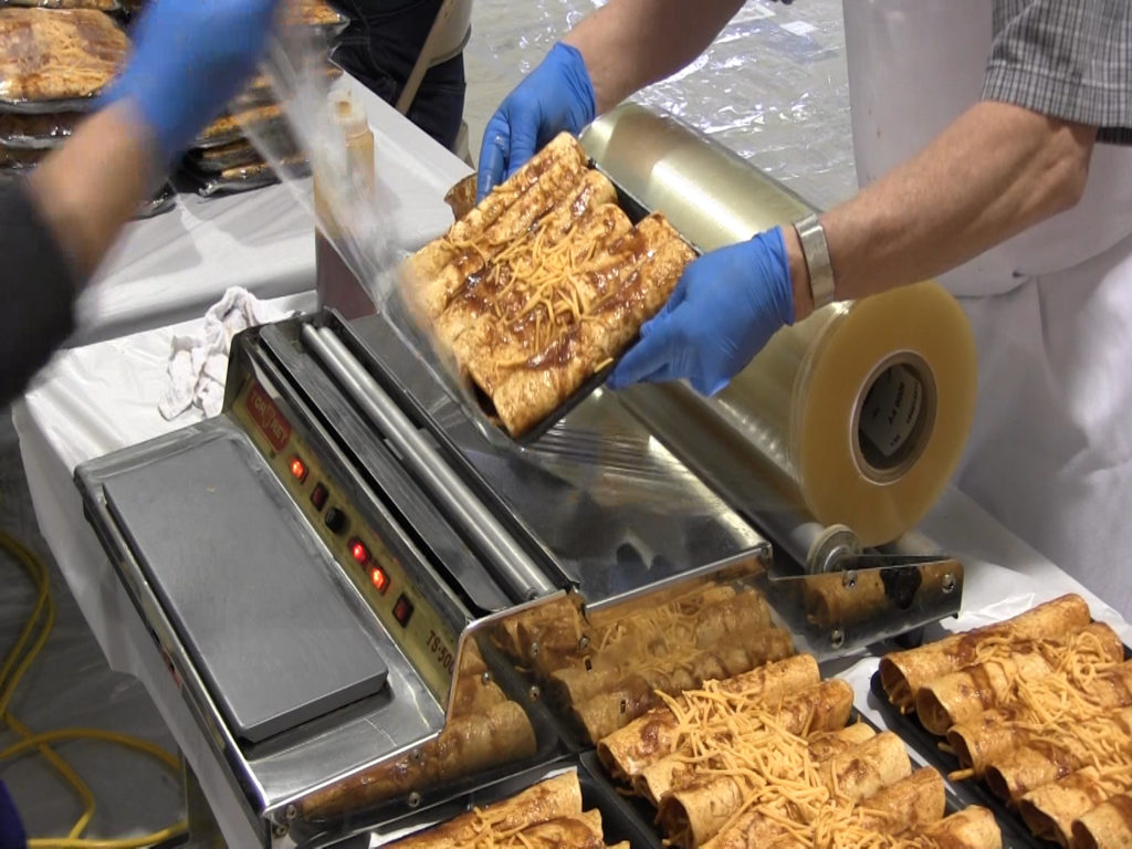Community Christian School turns into enchilada factory