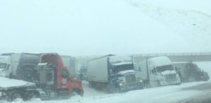 (UPDATE) I-80 Westbound Closed West of Lincoln, Eastbound Re-Opened
