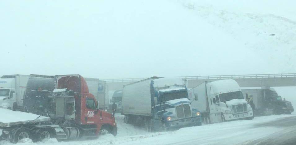 Interstate 80 closure in eastern Nebraska
