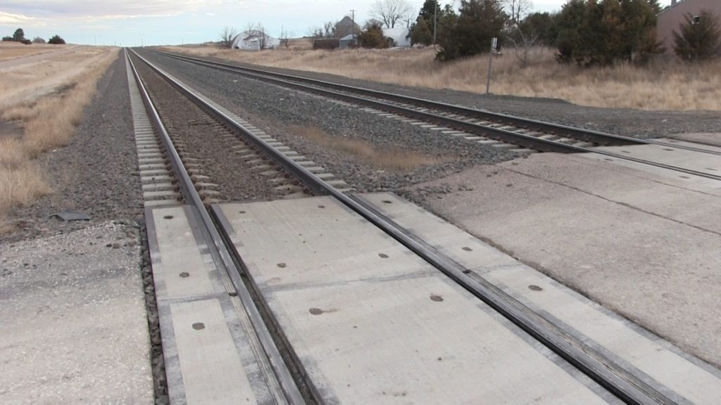 Man dies after being struck by train in southeast Nebraska