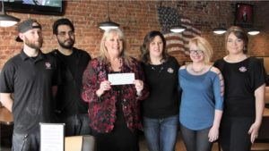 Sam & Louie's donation pushes United Way closer to fundraising goal