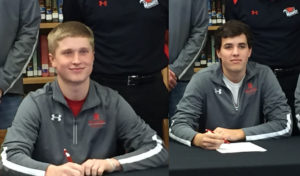 Northeast signs two golf recruits from Randolph