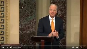 (VIDEO) Sen. Moran Discusses Ag Exports, Commodities & Community Banks on the Senate Floor
