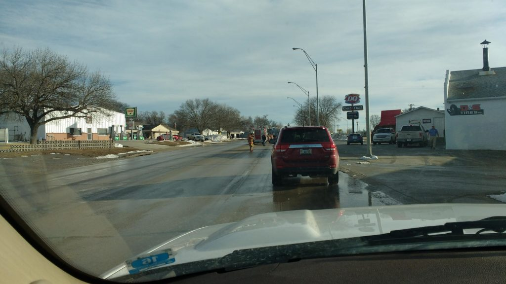 Minor Accident Near Dairy Queen In West Point