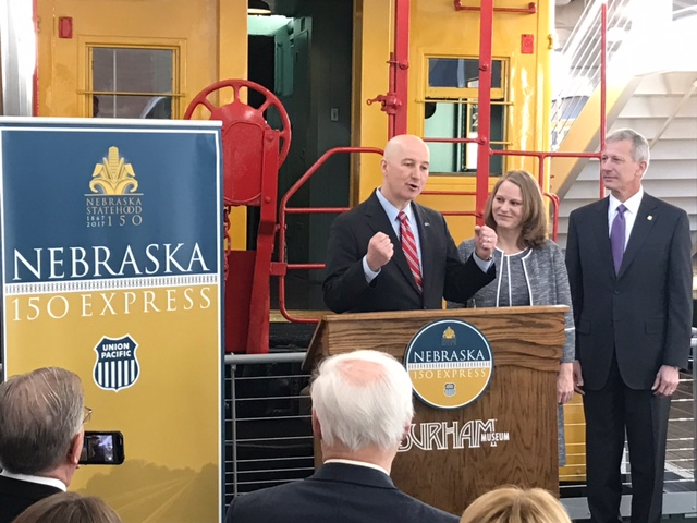 """Nebraska150 Express"" Tour Unveiled By Governor"
