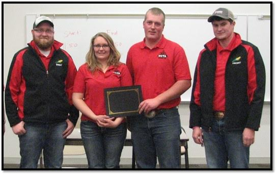 Ten colleges compete at NCTA Crops Contest