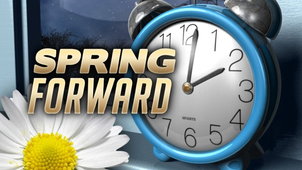 Daylight Saving Time begins Sunday morning