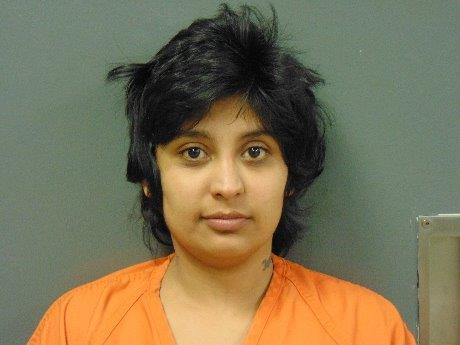 Woman arrested for strange Bluffs burglary