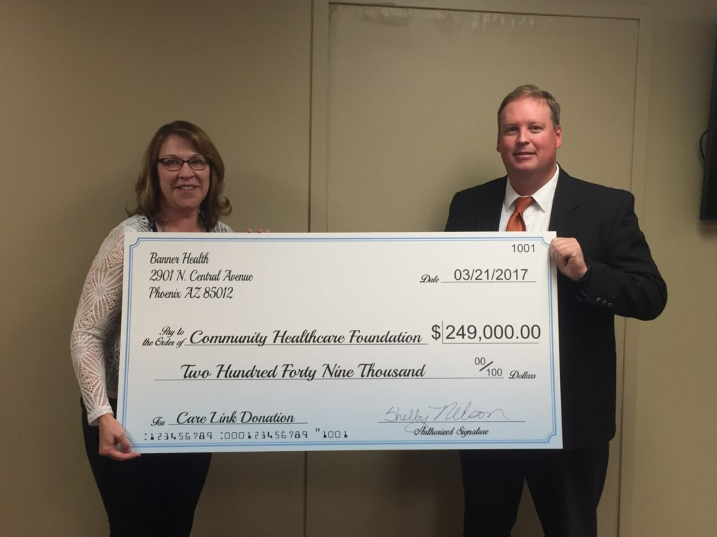 Banner Health gives back to local Torrington foundation