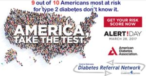 Diabetes Alert Day, March 28