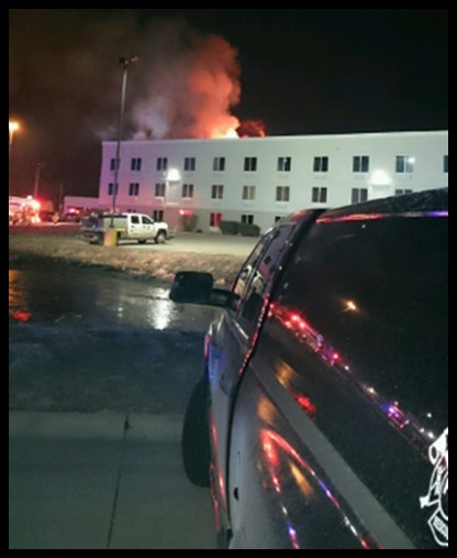 (Audio) North Platte Fire Chief:  Fire at Holiday Inn Express is out