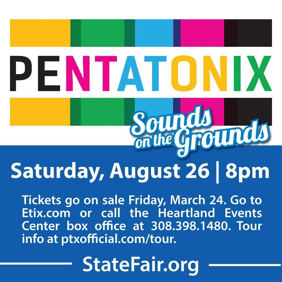 Pentatonix first concert act announced by Nebraska State Fair