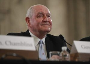 Senate Ag Chairman Calls for Quick Vote to Advance Sonny Perdue's Nomination