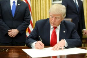 President Trump Signs KORUS