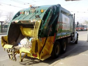 Garbage hauler cited for collecting trash too early