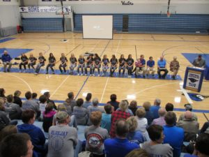 (AUDIO) GACC holds Celebration for State Champion Girls Basketball Team