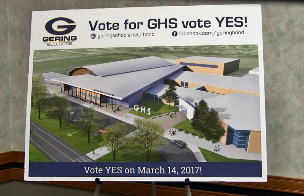 Gering patrons to decide on $24 million bond issue Tuesday
