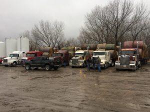 (Audio) Area Farmers Send Loads Of Hay To Kansas