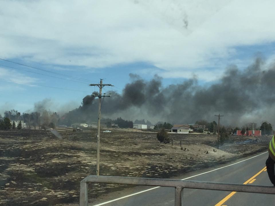 Wildfire destroyed homes near Lake McConaughy