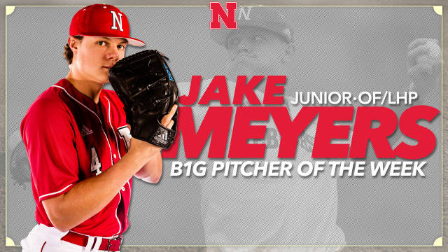 Meyers Named Big Ten Pitcher of the Week