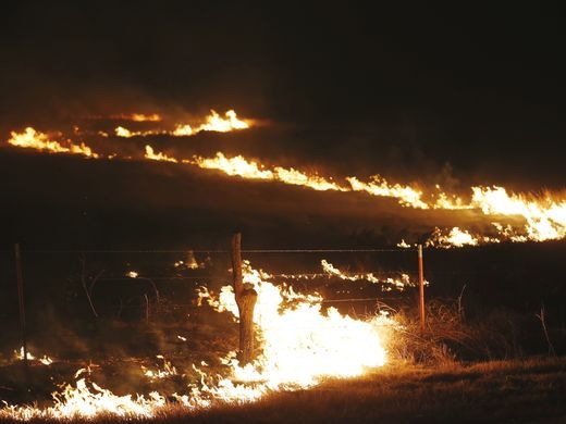 Cargill Donates $50,000 of Fencing Materials to Fire