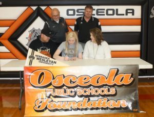 Gustafson signs to play basketball at NWU