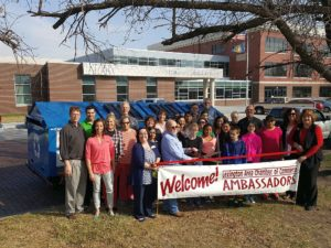 New recycling trailer dedicated in Lexington